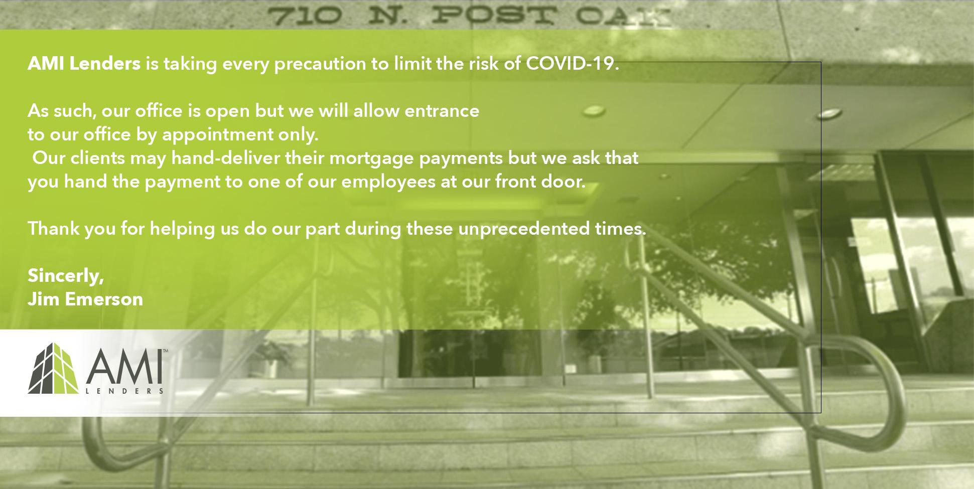 COVID-19_AMI Lenders